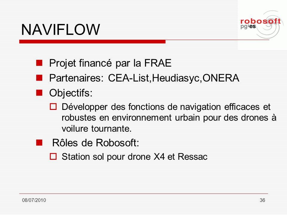 NAVIFLOW Projet financé par la FRAE