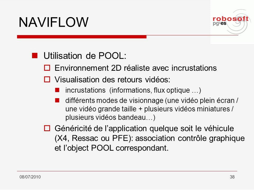 NAVIFLOW Utilisation de POOL: