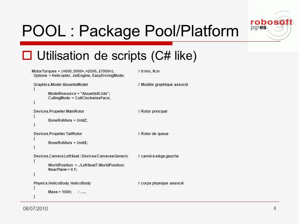 POOL : Package Pool/Platform