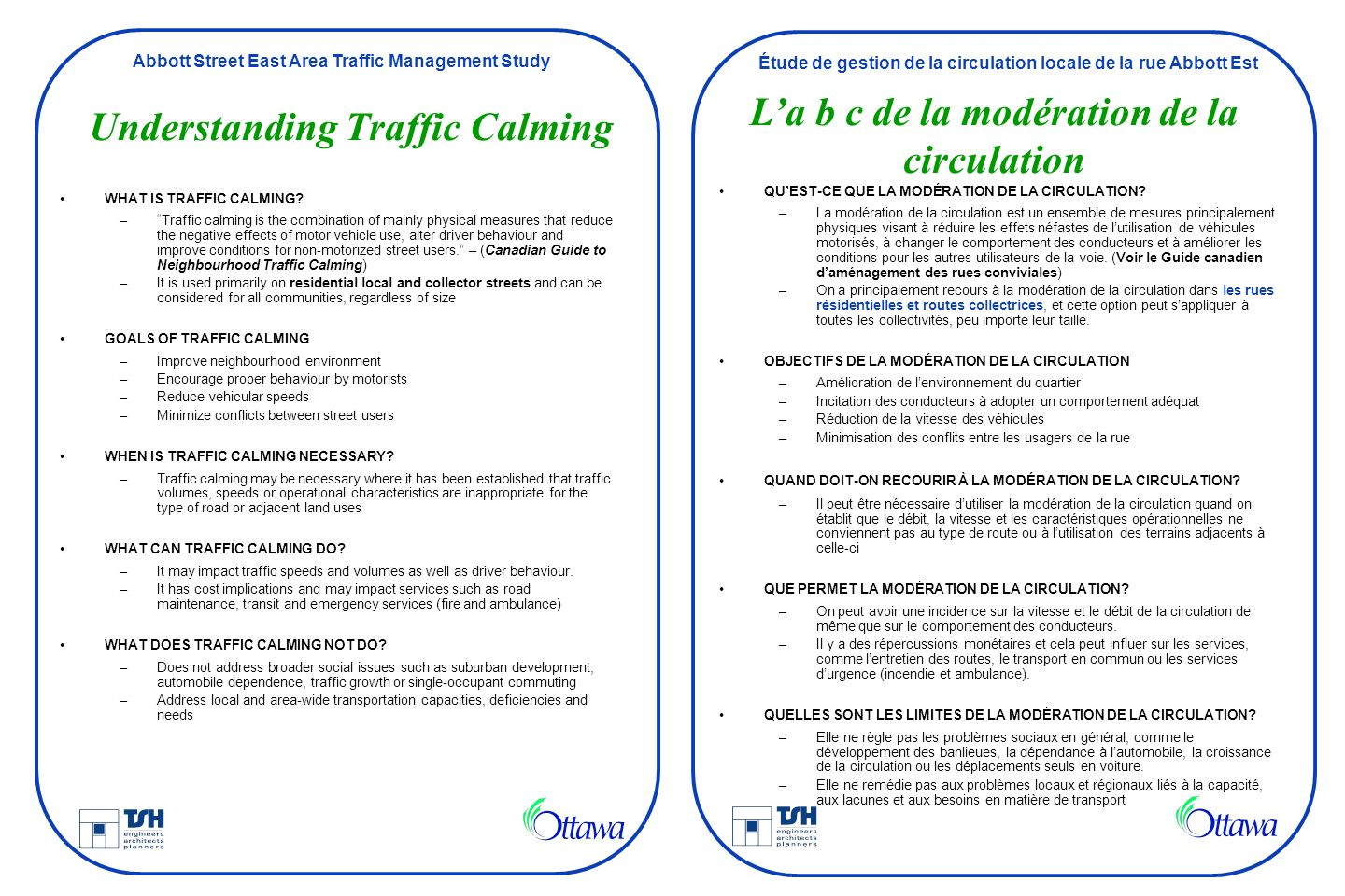 Understanding Traffic Calming