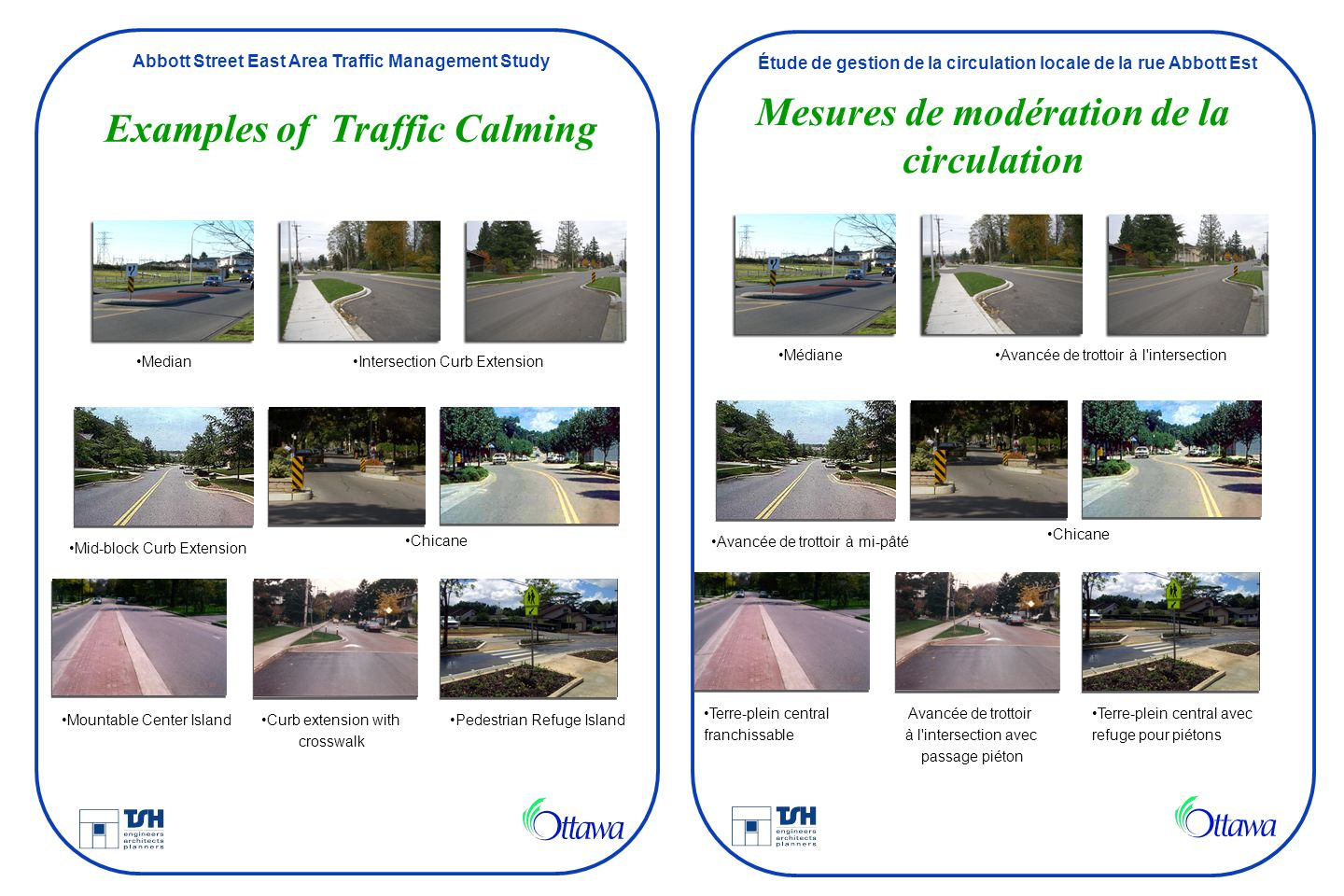 Examples of Traffic Calming
