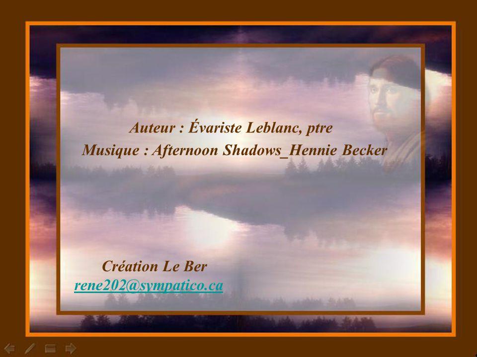Auteur : Évariste Leblanc, ptre