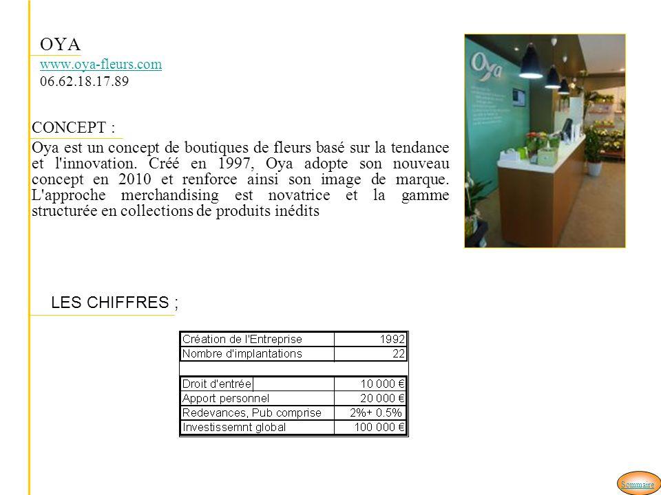 OYA www.oya-fleurs.com 06.62.18.17.89 CONCEPT :