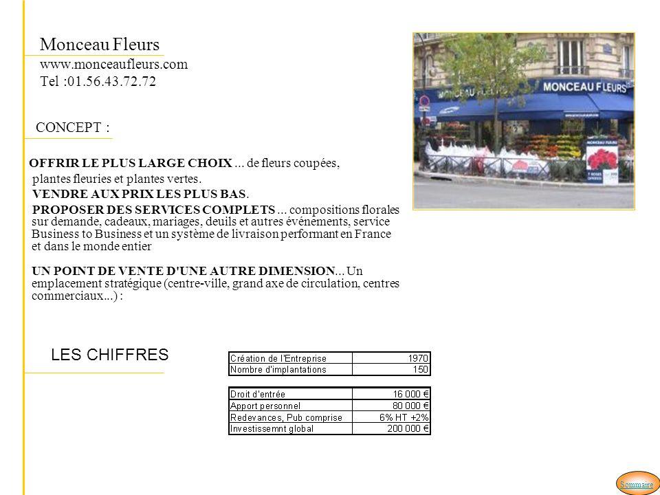 Monceau Fleurs www.monceaufleurs.com Tel :01.56.43.72.72