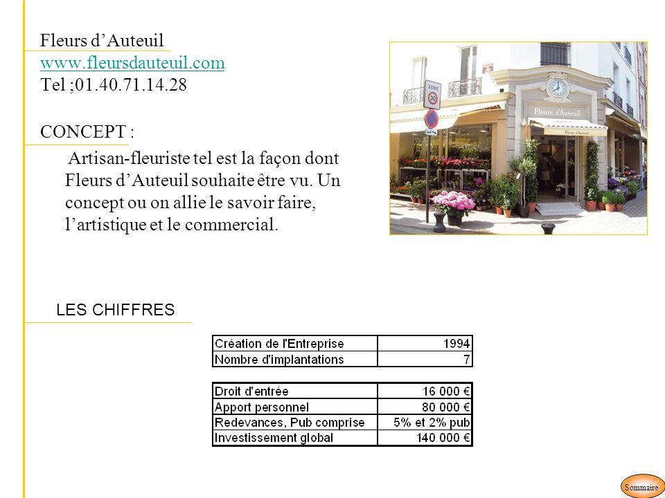 Fleurs d'Auteuil www.fleursdauteuil.com Tel ;01.40.71.14.28