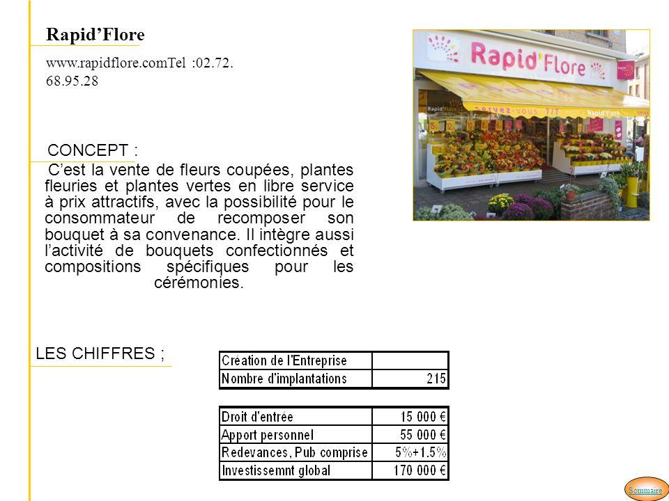Rapid'Flore www.rapidflore.comTel :02.72.68.95.28. CONCEPT :