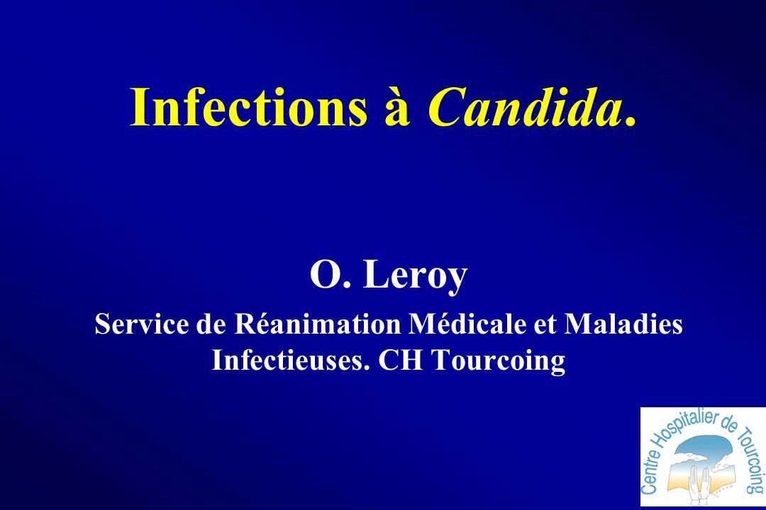 Service de Réanimation Médicale et Maladies Infectieuses. CH Tourcoing