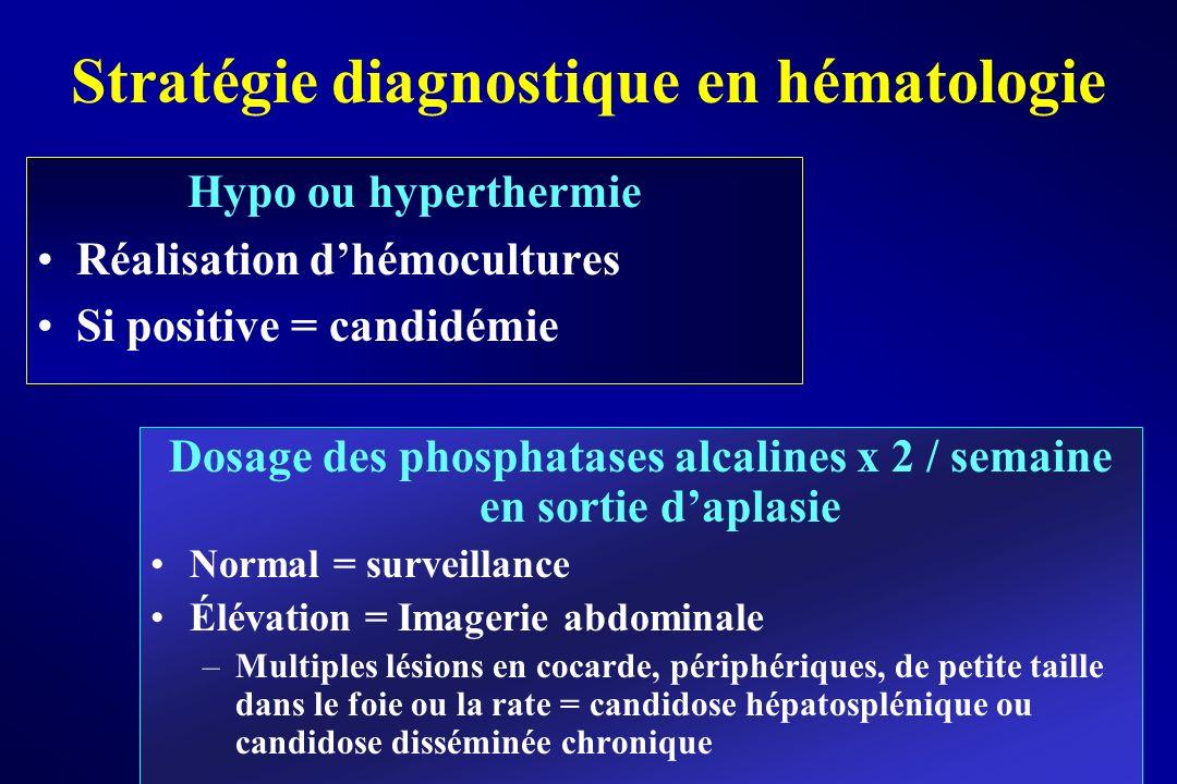 Stratégie diagnostique en hématologie