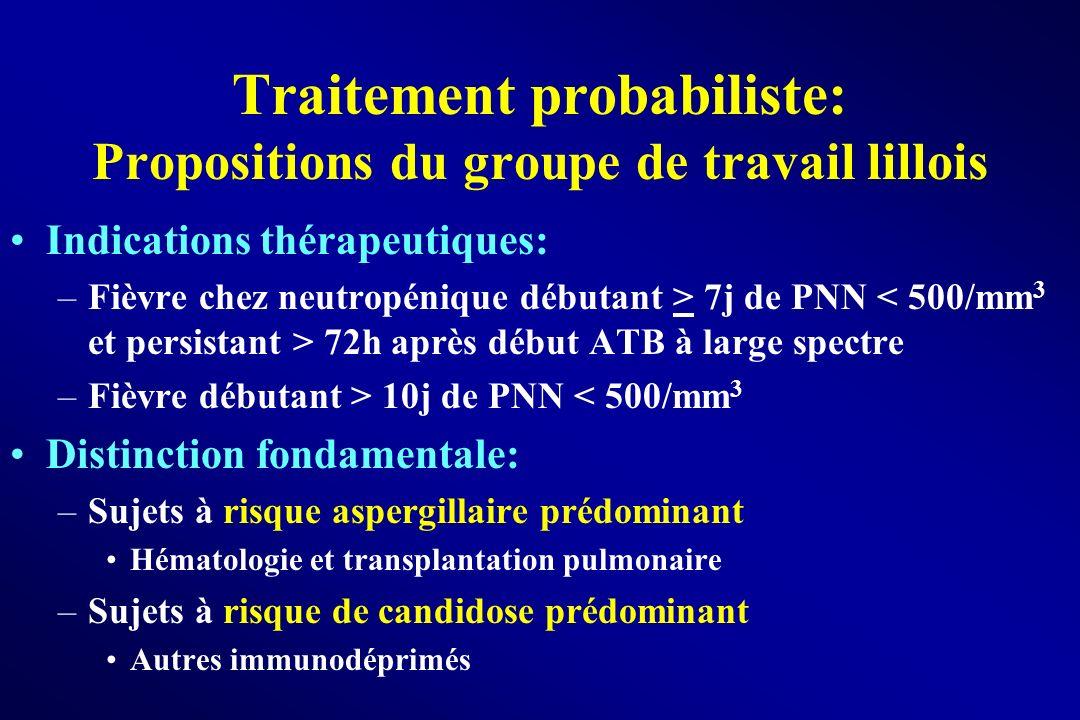 Traitement probabiliste: Propositions du groupe de travail lillois