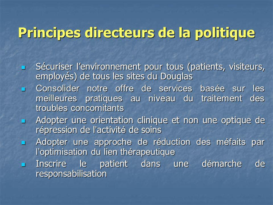 Principes directeurs de la politique