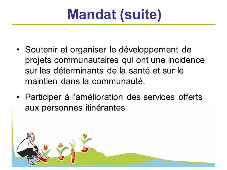 Mandat (suite)