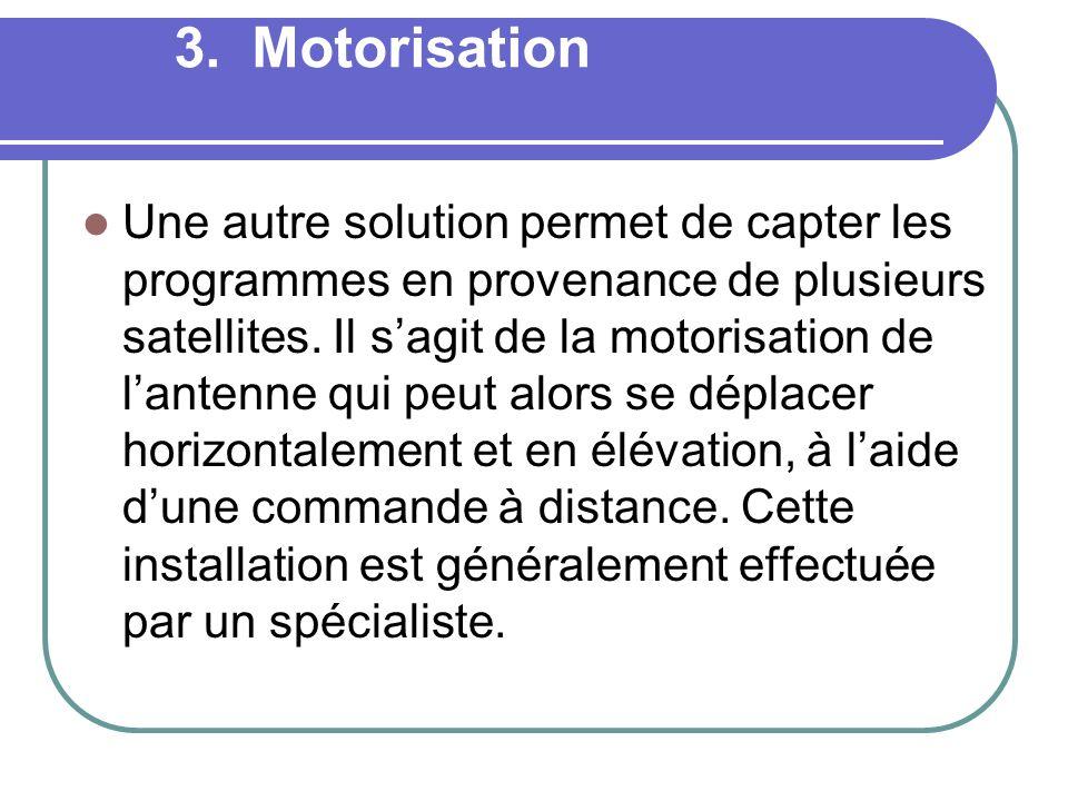 3. Motorisation
