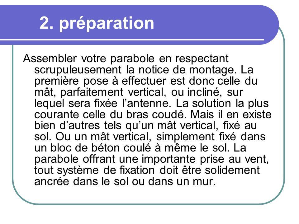 2. préparation