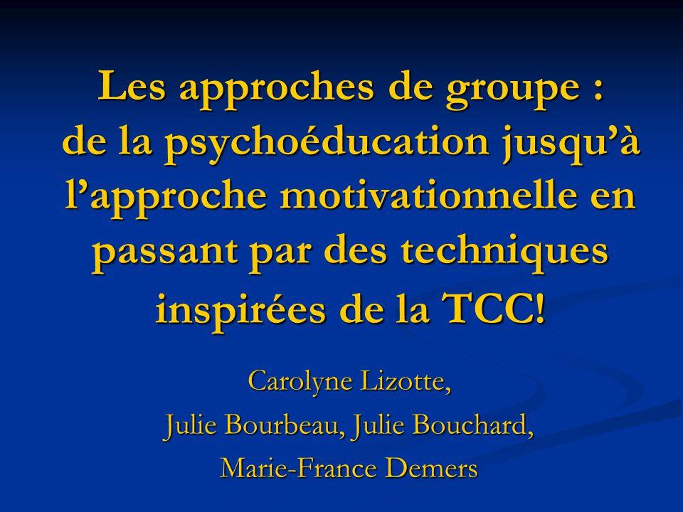 Carolyne Lizotte, Julie Bourbeau, Julie Bouchard, Marie-France Demers