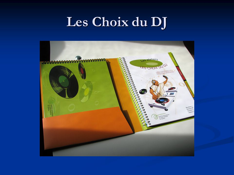 Les Choix du DJ