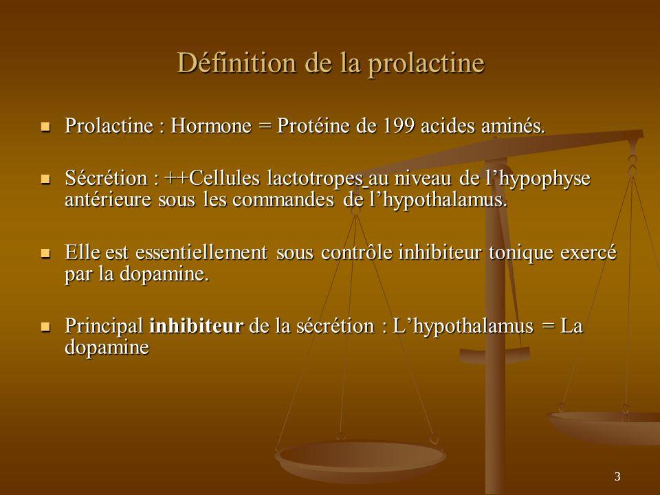 Définition de la prolactine