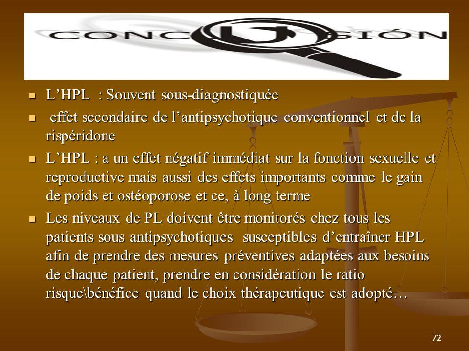 L'HPL : Souvent sous-diagnostiquée