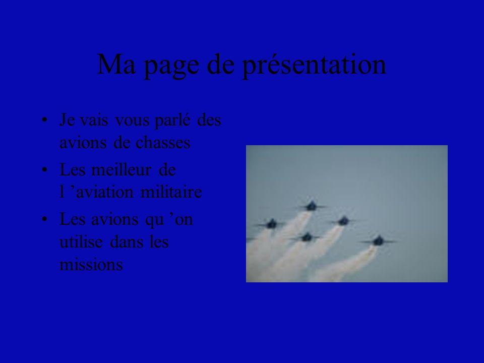 Ma page de présentation