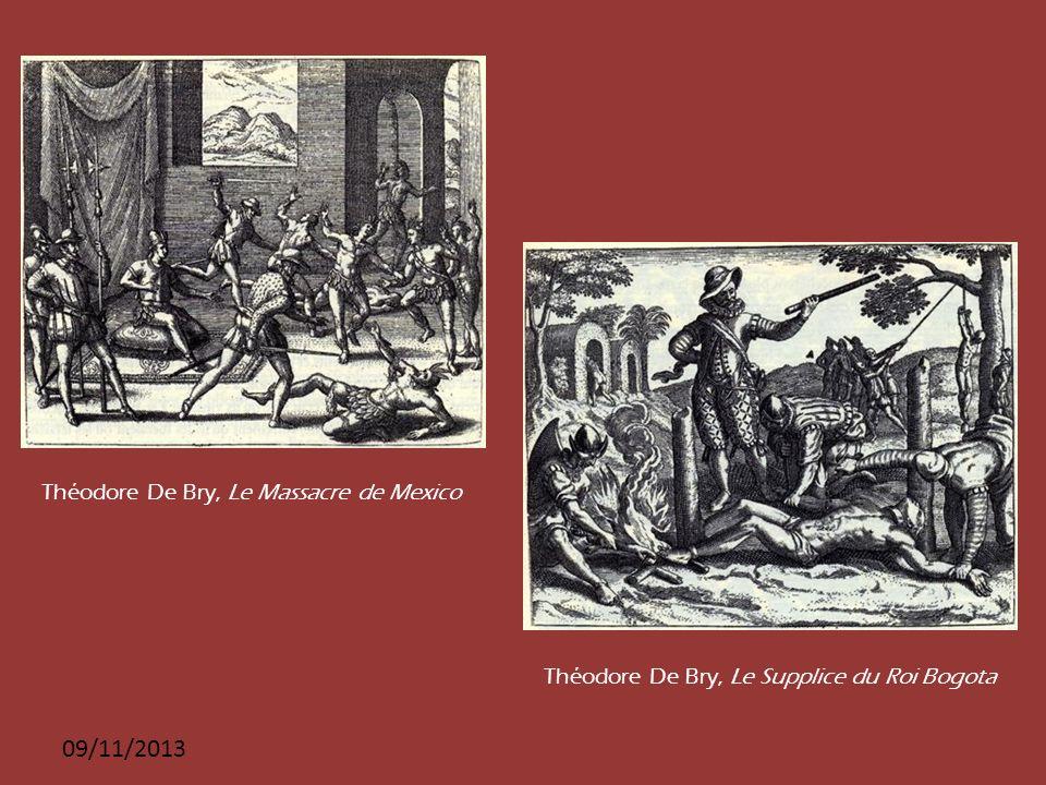 14141414 25/03/2017 Théodore De Bry, Le Massacre de Mexico