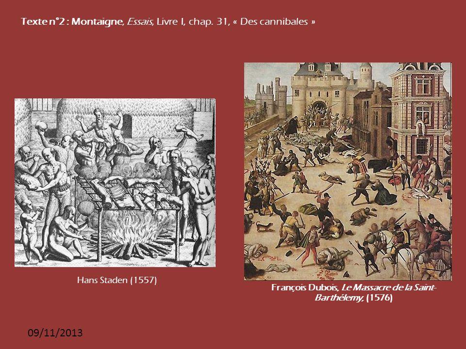 François Dubois, Le Massacre de la Saint- Barthélemy, (1576)