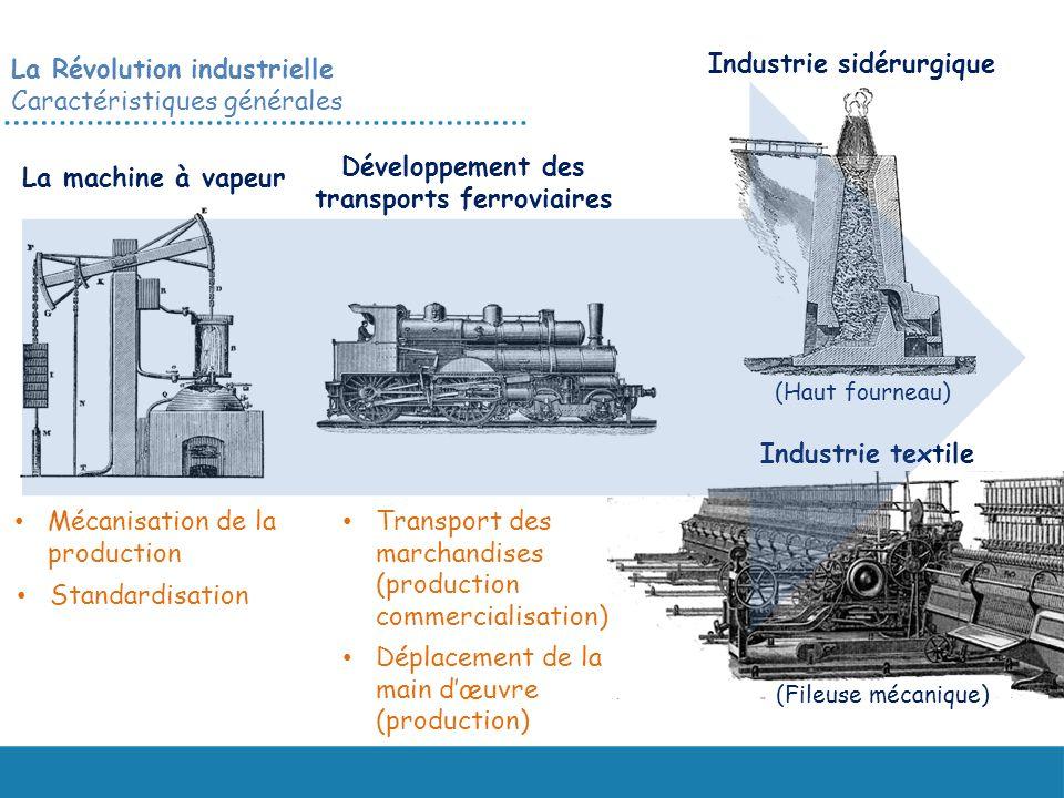 Développement des transports ferroviaires