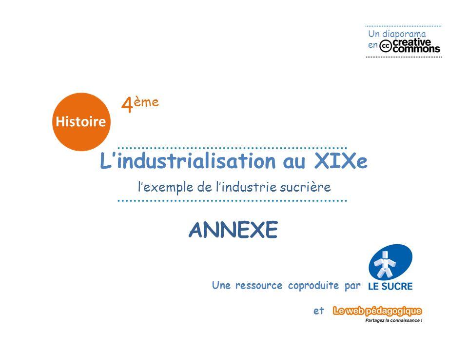 L'industrialisation au XIXe