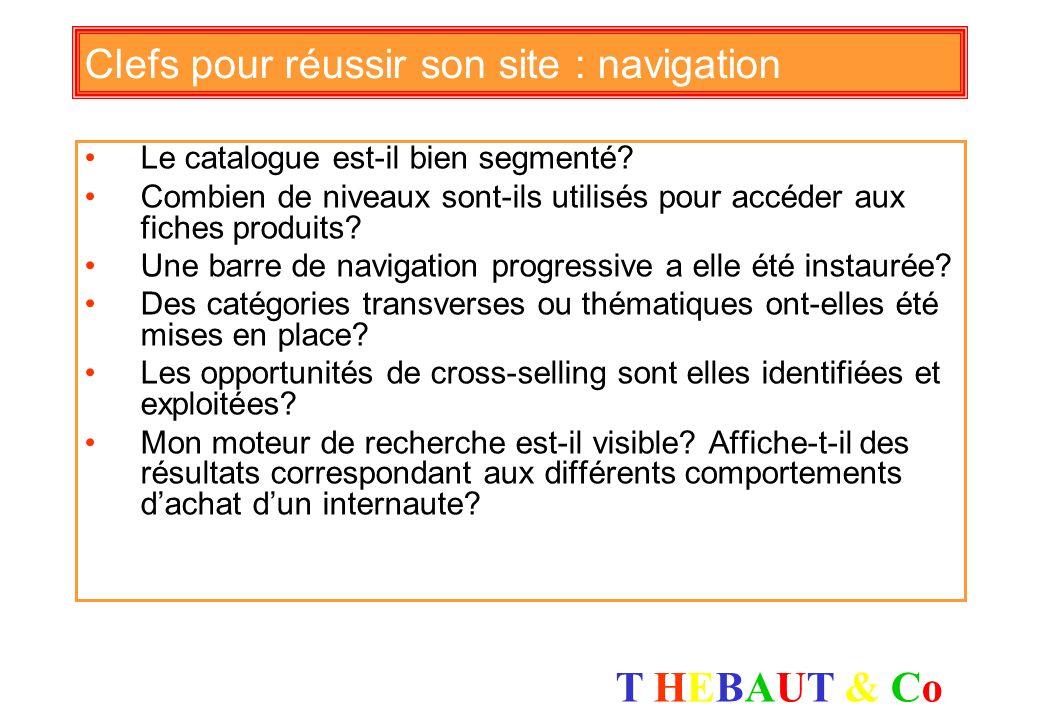 Clefs pour réussir son site : navigation