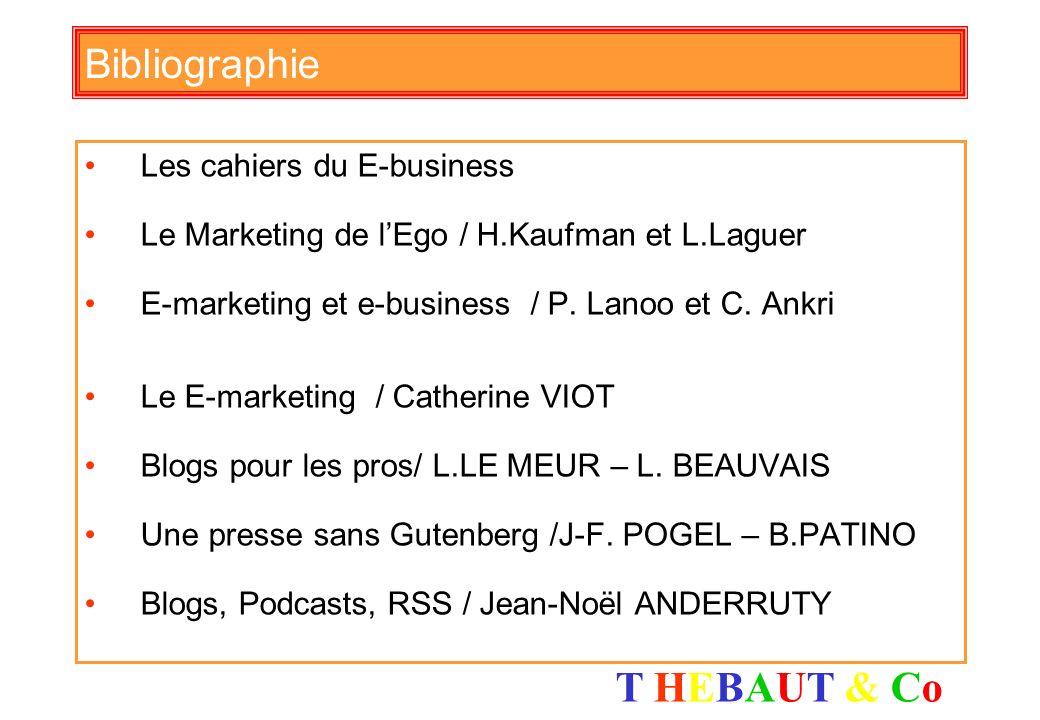 Bibliographie Les cahiers du E-business