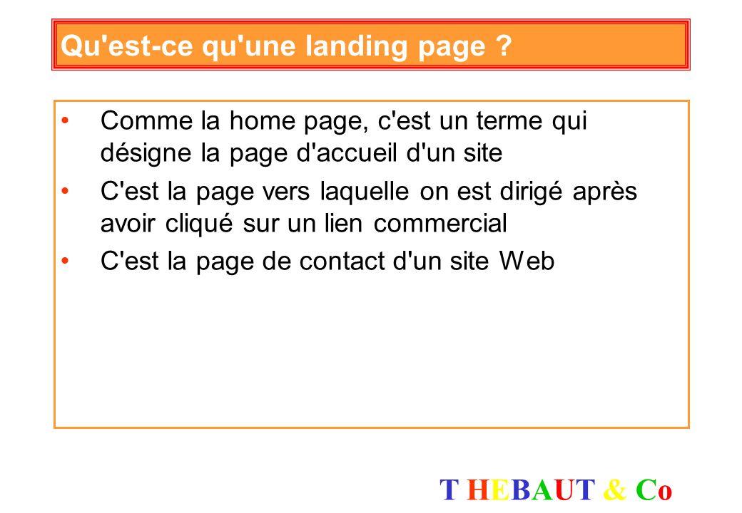Qu est-ce qu une landing page