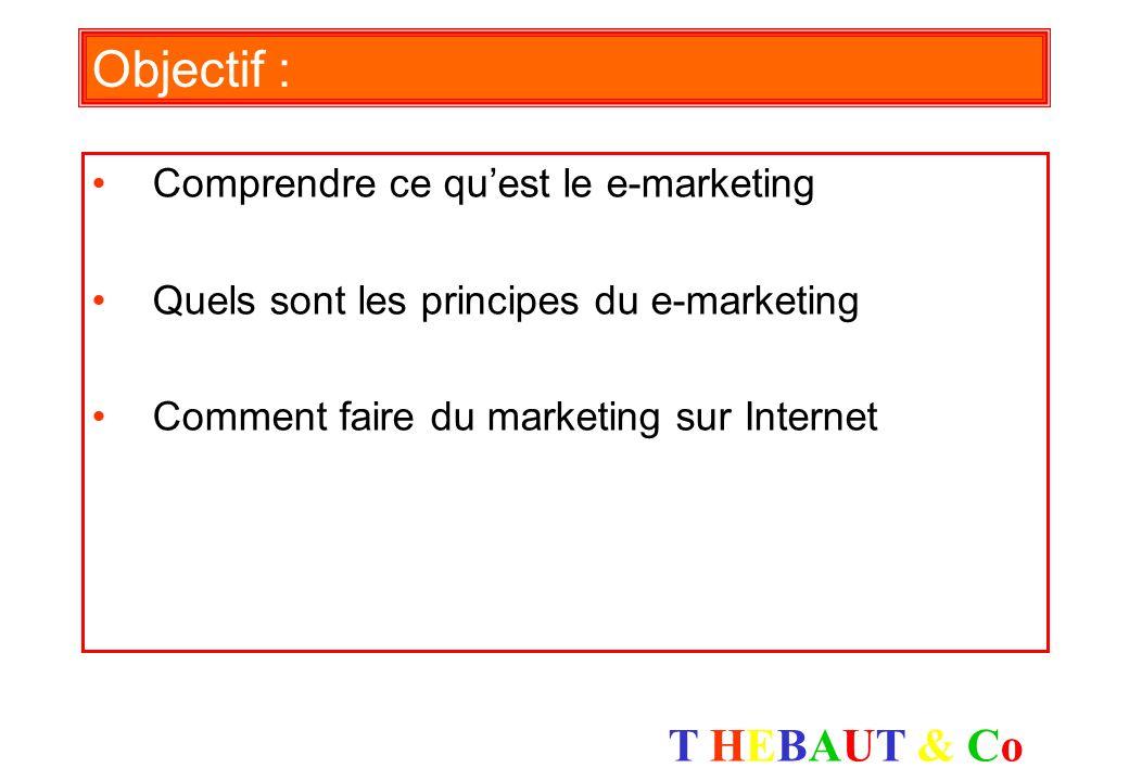 Objectif : Comprendre ce qu'est le e-marketing