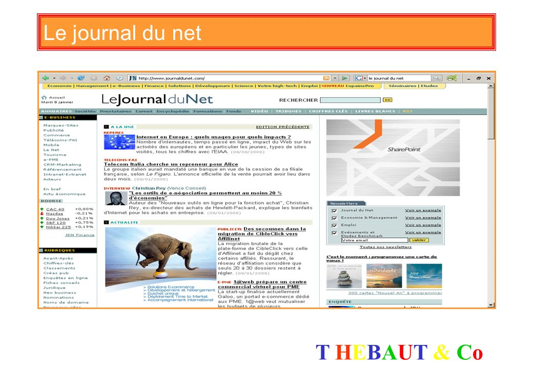 Le journal du net