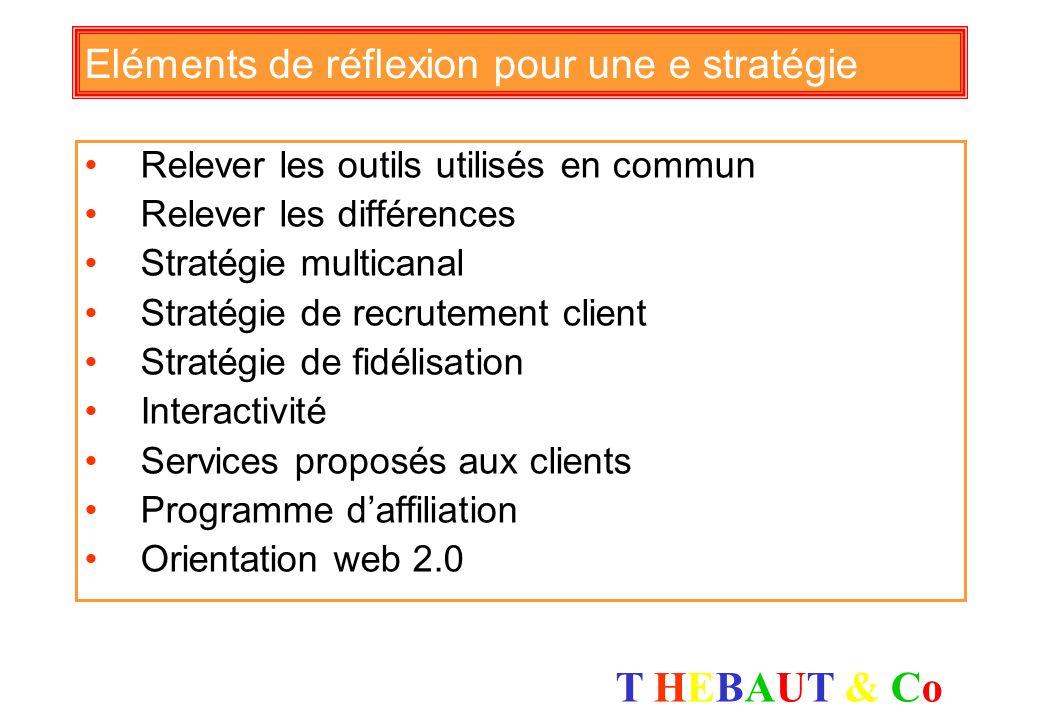 Eléments de réflexion pour une e stratégie