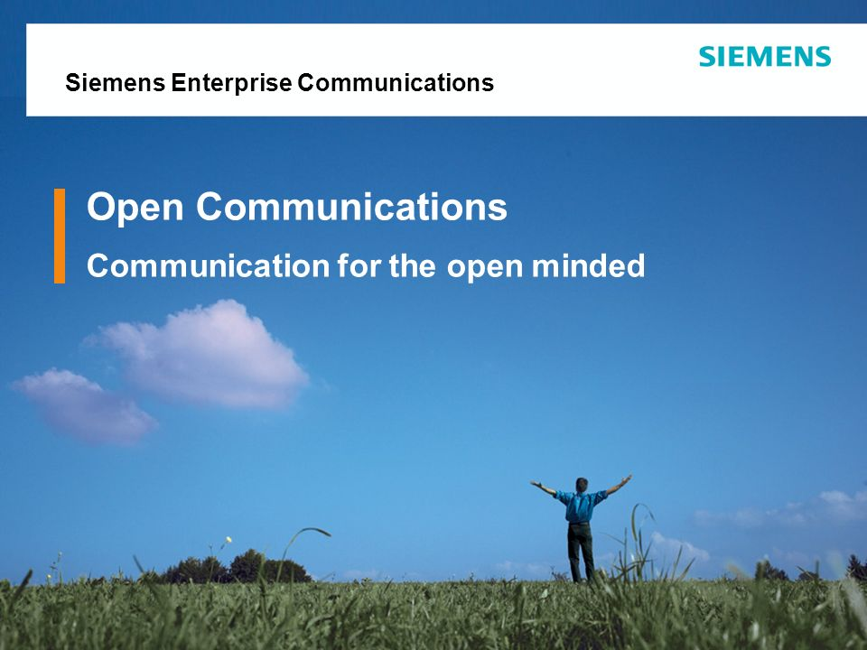 Open Communications Communication for the open minded