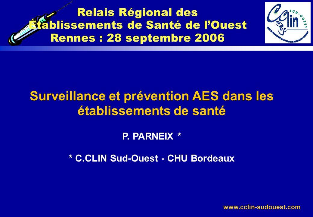 Relais Régional des Établissements de Santé de l'Ouest Rennes : 28 septembre 2006