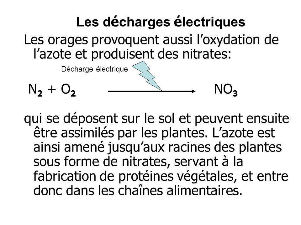 Les décharges électriques