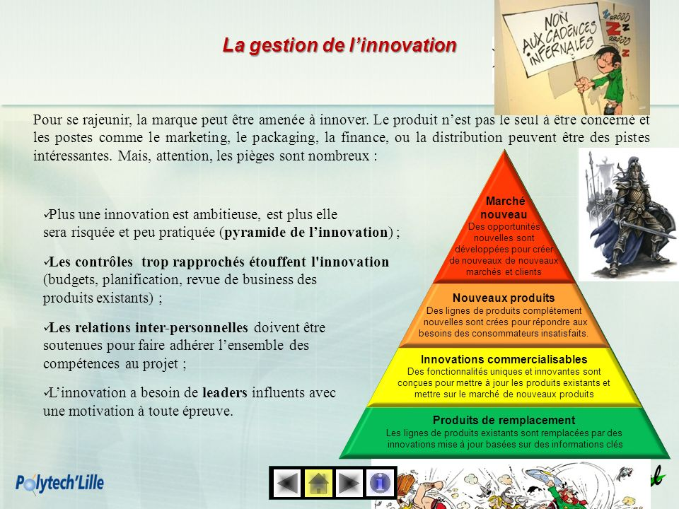 La gestion de l'innovation
