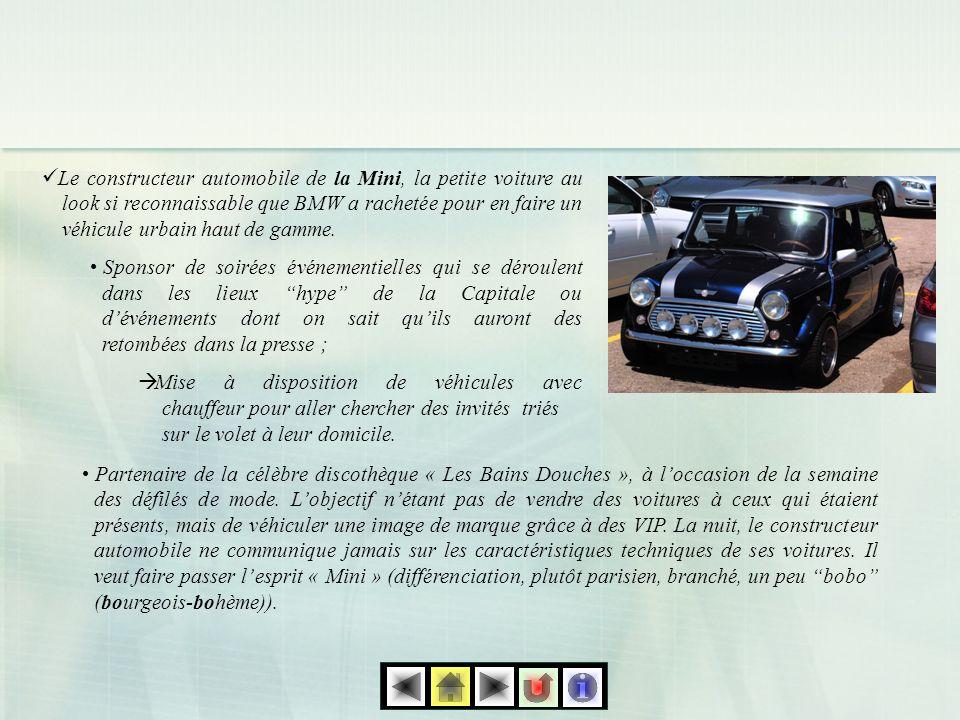 Le constructeur automobile de la Mini, la petite voiture au