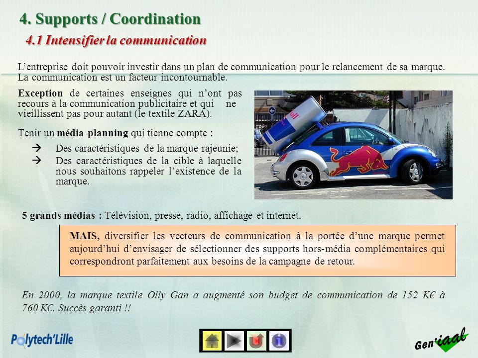 4.1 Intensifier la communication