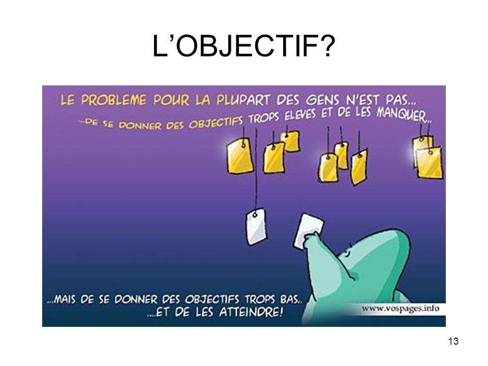 L'OBJECTIF
