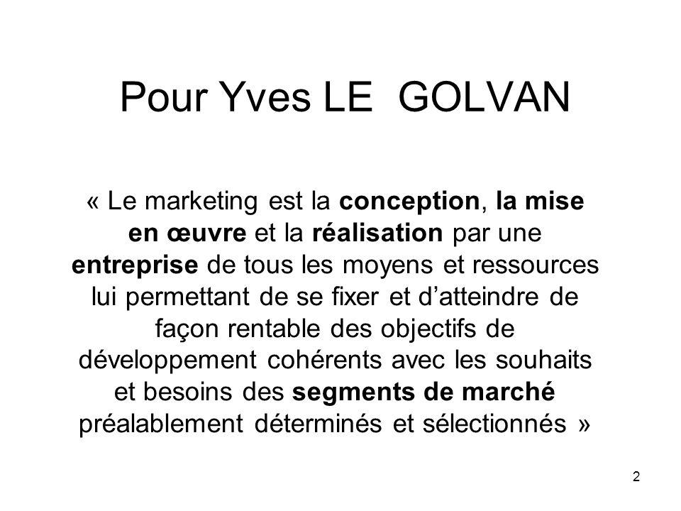 Pour Yves LE GOLVAN