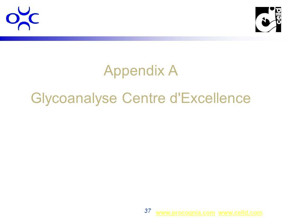 Appendix A Glycoanalyse Centre d Excellence