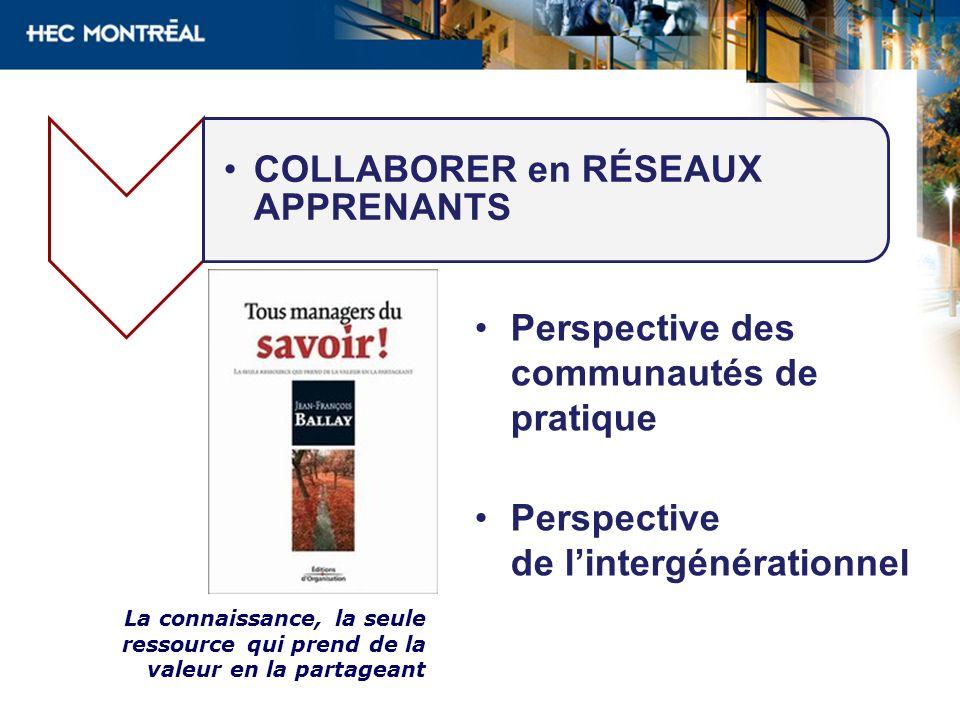 COLLABORER en RÉSEAUX APPRENANTS