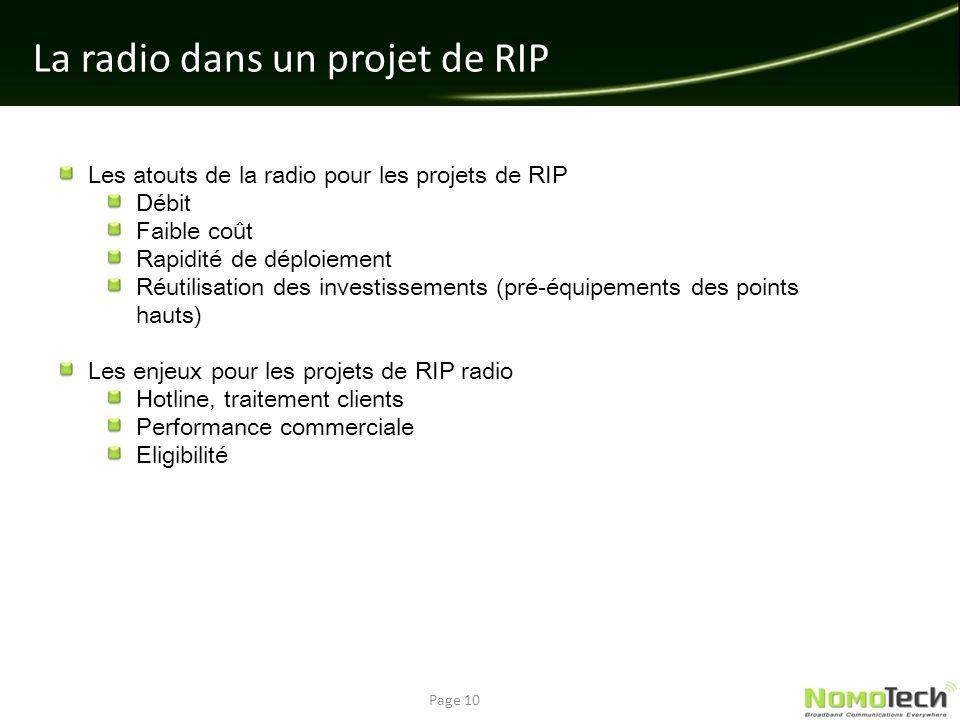 La radio dans un projet de RIP