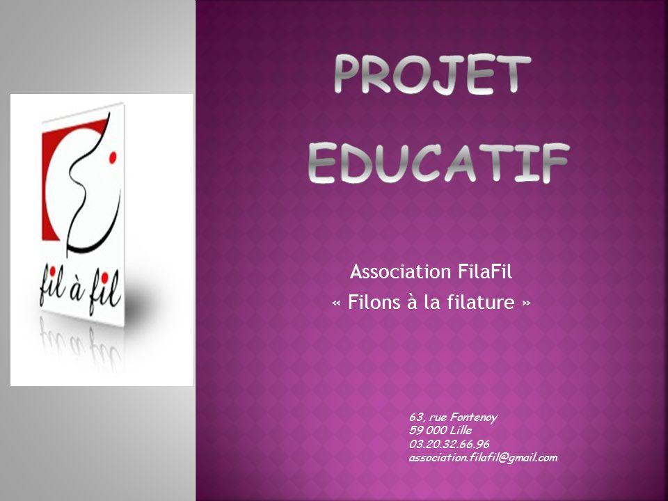 Association FilaFil « Filons à la filature »