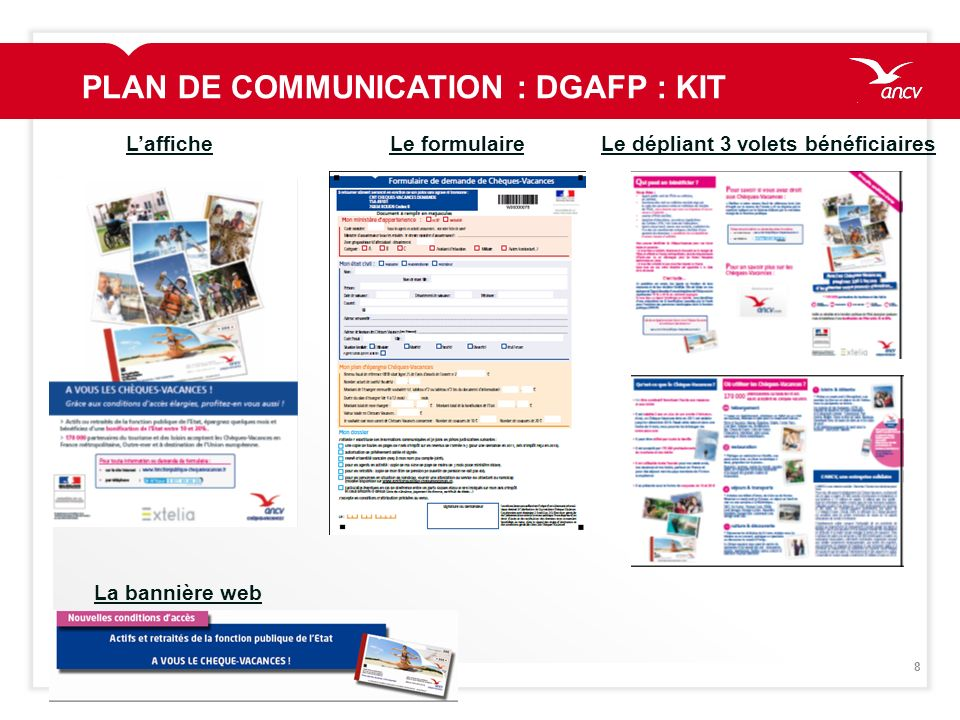 PLAN DE COMMUNICATION : DGAFP : KIT
