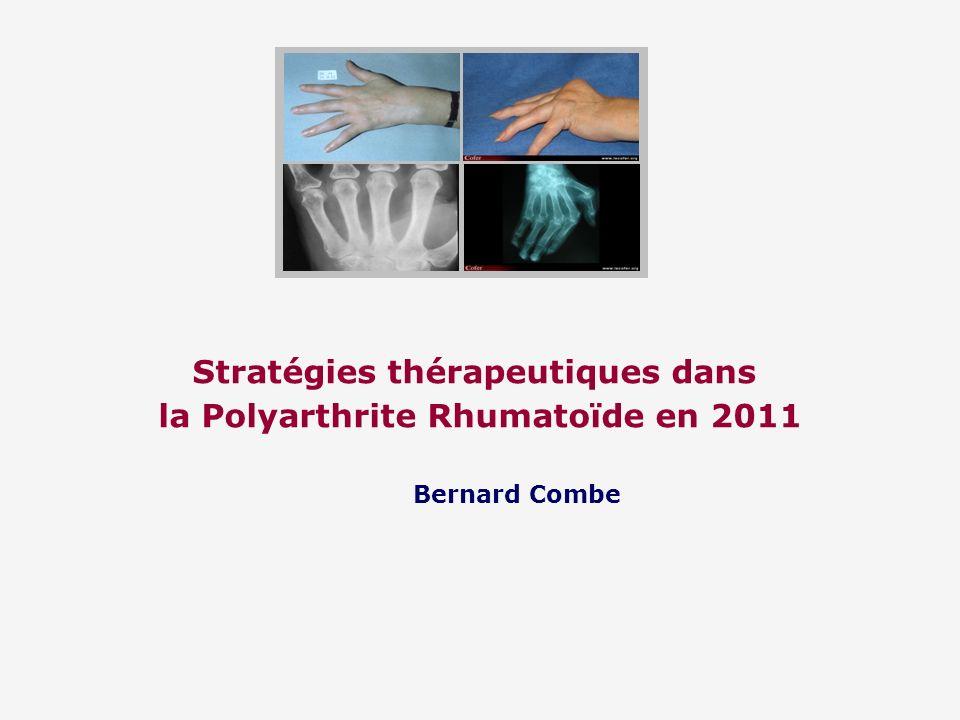 Stratégies thérapeutiques dans la Polyarthrite Rhumatoïde en 2011