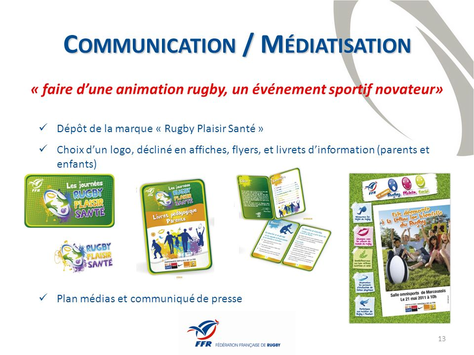 Communication / Médiatisation
