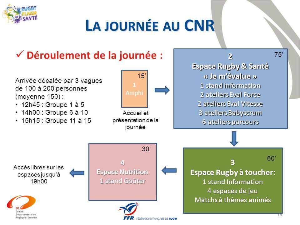 Espace Rugby à toucher:
