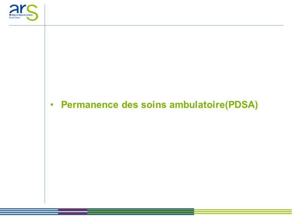 Permanence des soins ambulatoire(PDSA)