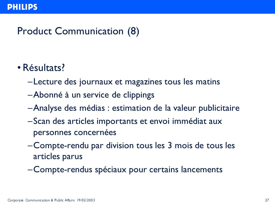 Product Communication (8)